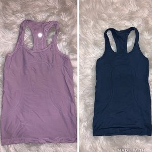 2 Lululemon Swiftly Tech Racerback Tank Top
